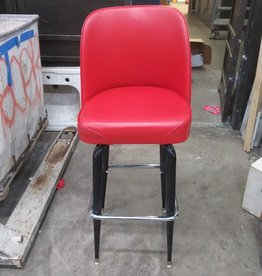 Red Leather Bar Stools #ORA