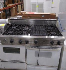 Viking Open Burner Cooktop