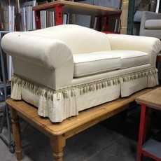 Ivory Upholstered Sofa