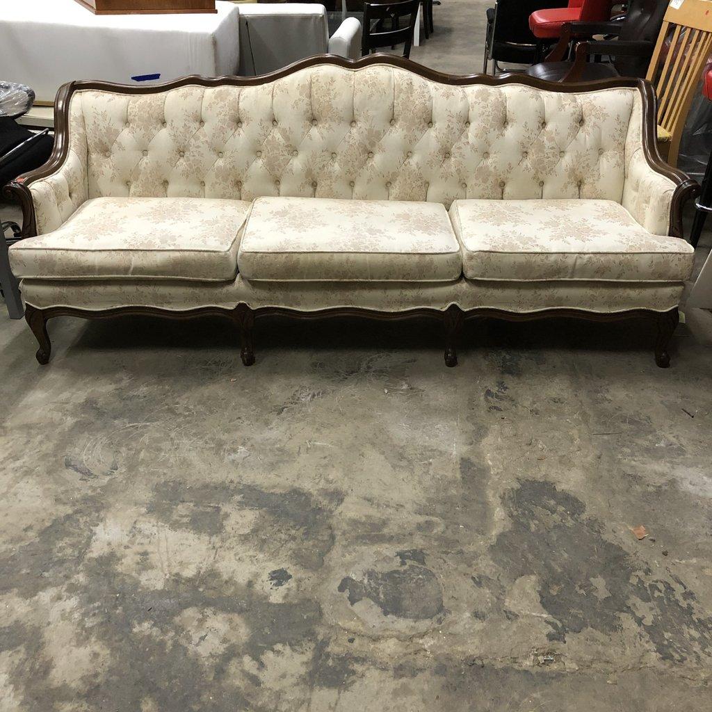 Vintage Floral Sofa