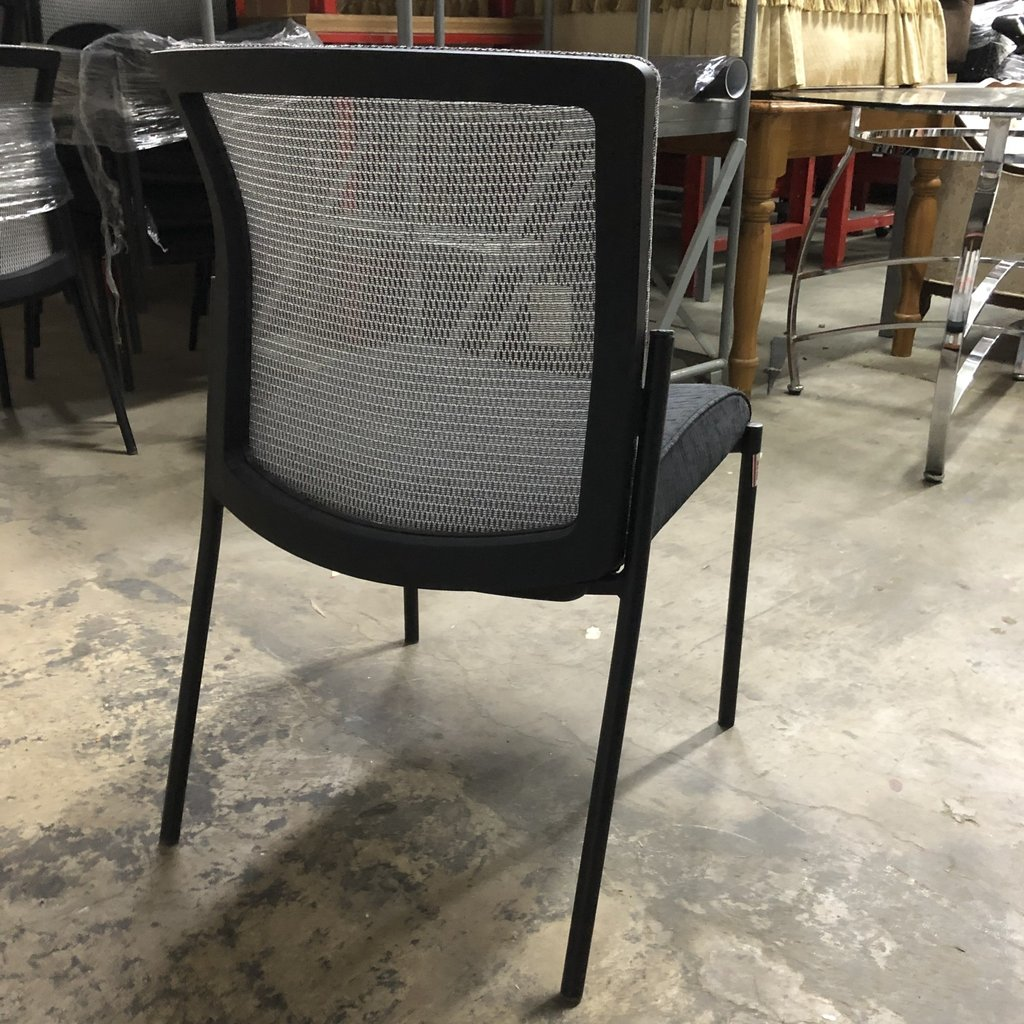 Black and Gray Conference Chairs