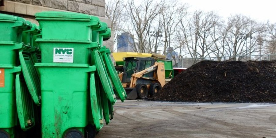 Big Reuse Compost Site Featured in Gothamist