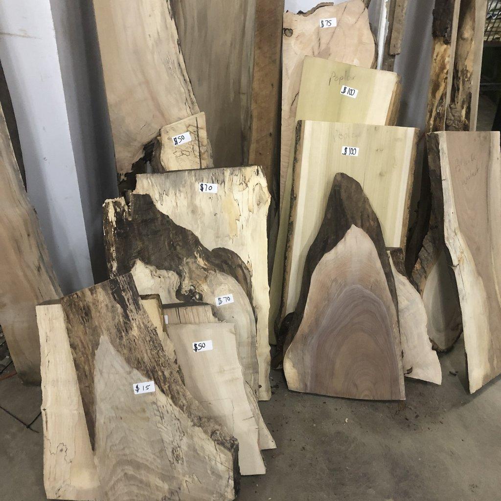 Live Edge Wood Slabs