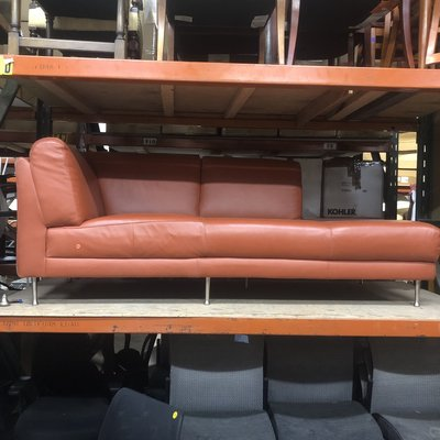 Ikea Hamra Orange Sofa #ORA