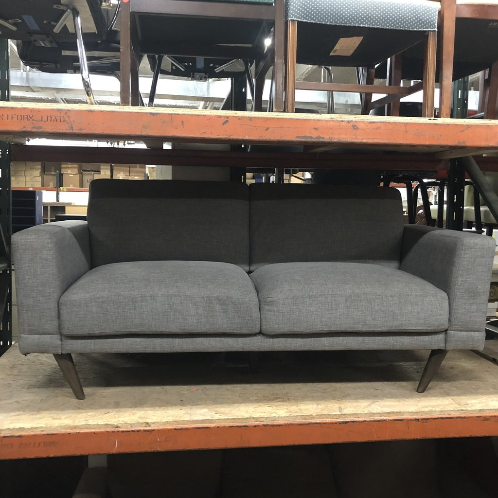 Grey Modern Upholstered Sofa