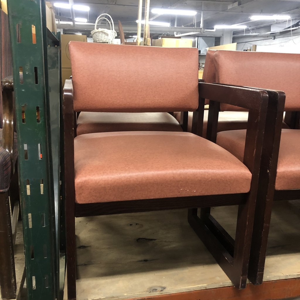 Orange Vinyl Chairs