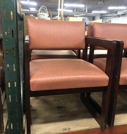 Orange Vinyl Chairs