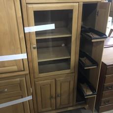 Wooden Media Cabinet