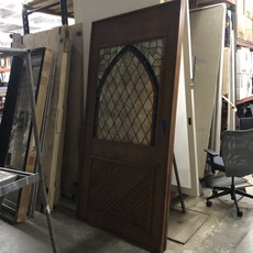 Stained Glass Pocket Door