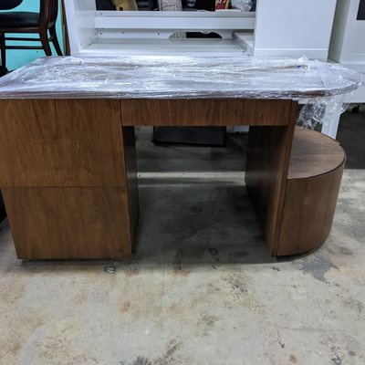 Large Desk with Hidden Drawers