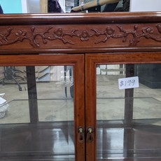Display Case with Engraving