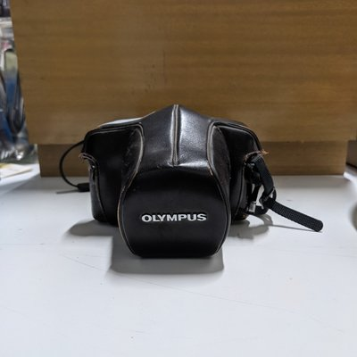 Olympus Camera with Leather Case