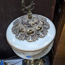 Brass Victorian Banquet Lamp