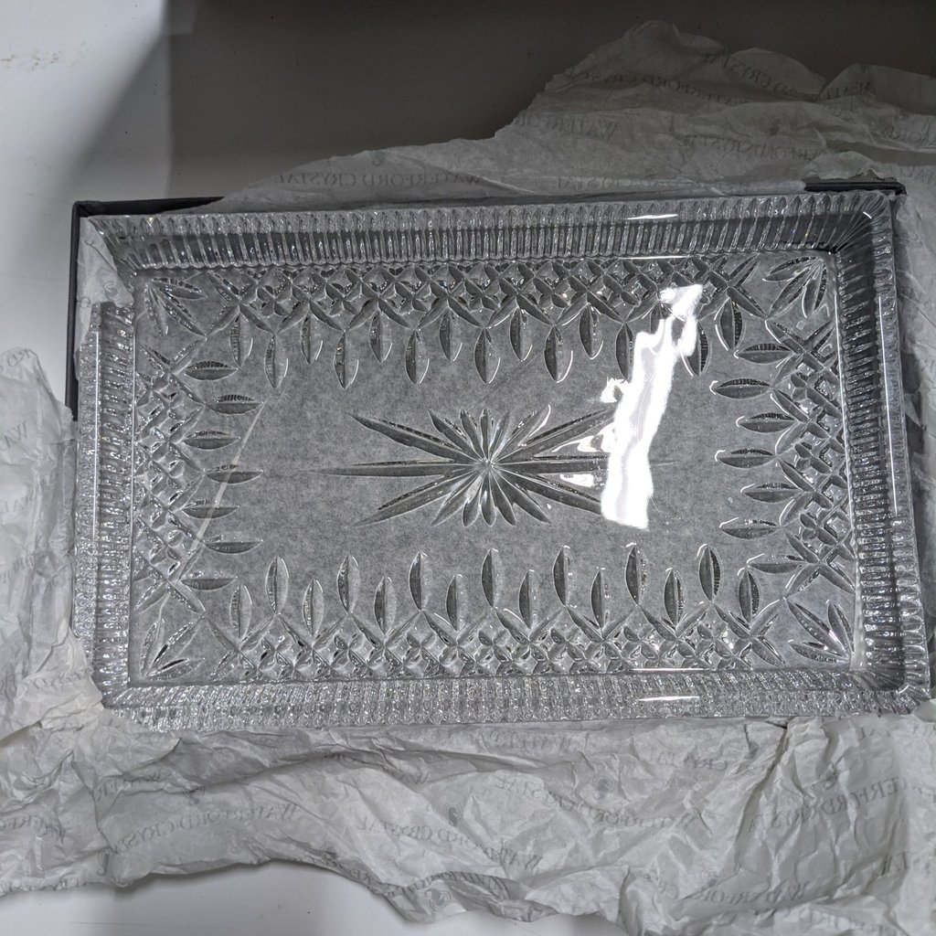 Waterford Crystal Tray