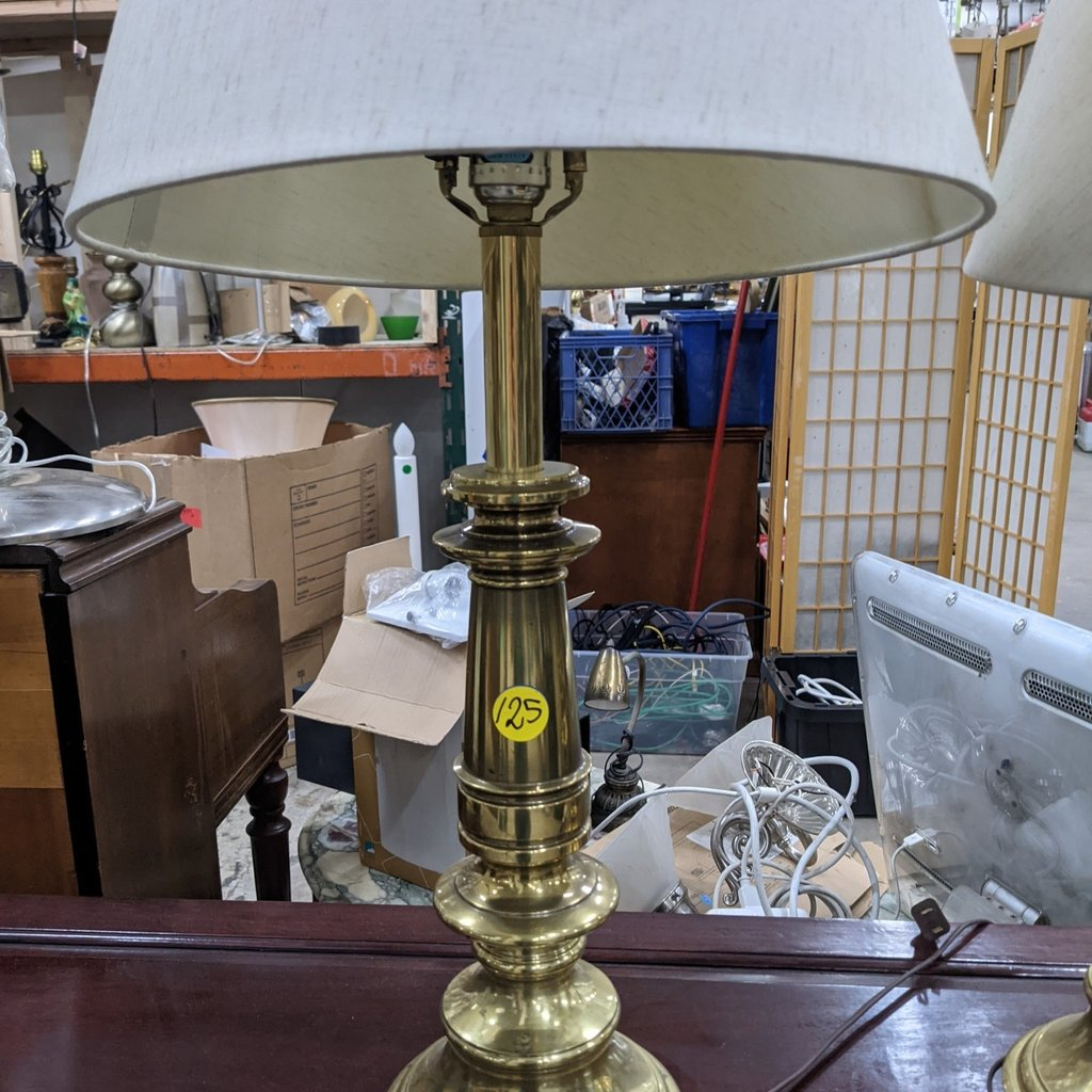 Golden Table Lamps (set of 2)