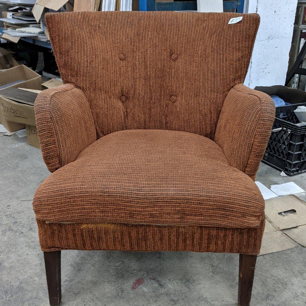 Rust Armchair