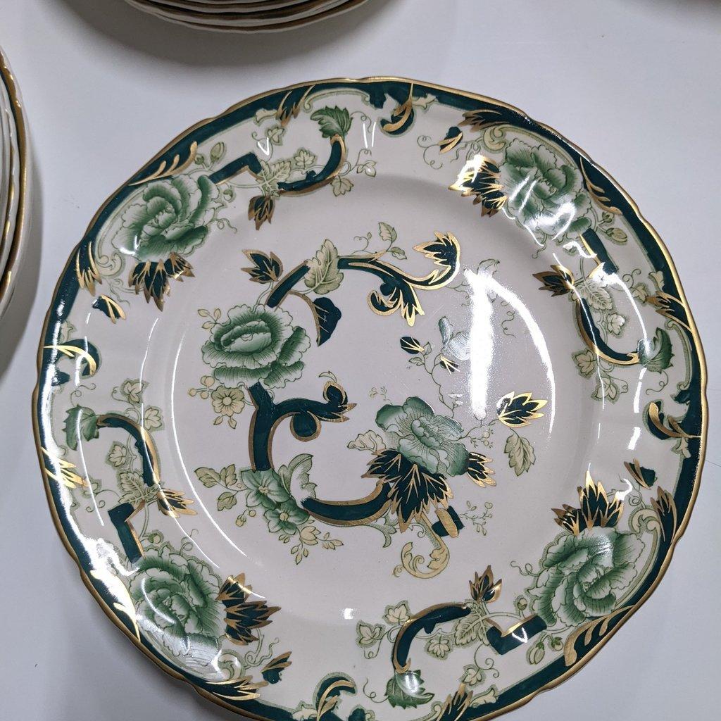 MASON'S Chartreuse Ironstone China Set
