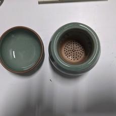 Traditional Korean Tea Set with Tea Strainer