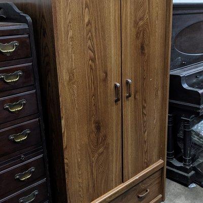Classic Hardwood Armoire
