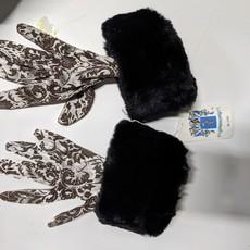 Portolano Fur-Cuffed Gloves