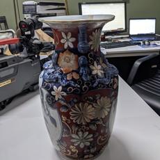 19th Century Porcelain Floor Vase