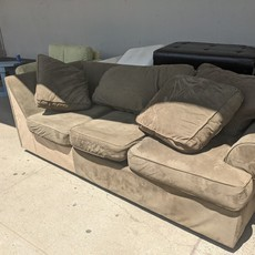 1 large Suede Couch