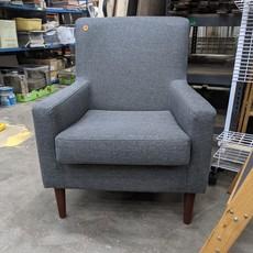 Modern Grey Armchair