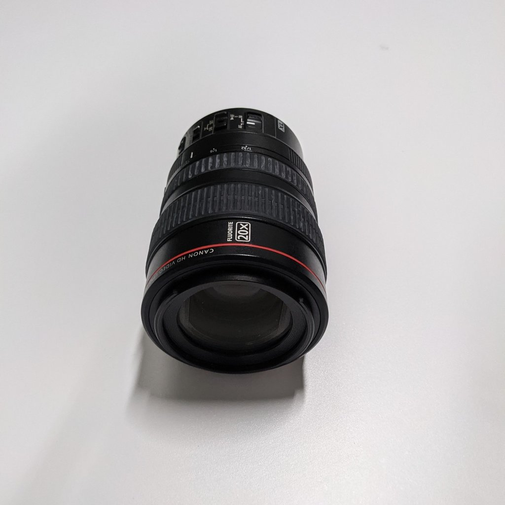 CANON HD VIDEO LENS 20X ZOOM