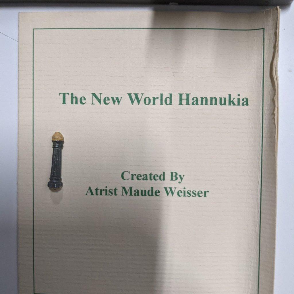 """""""The New World Hannukia"""" Menorah"""