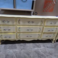 9 Drawer Floral Dresser