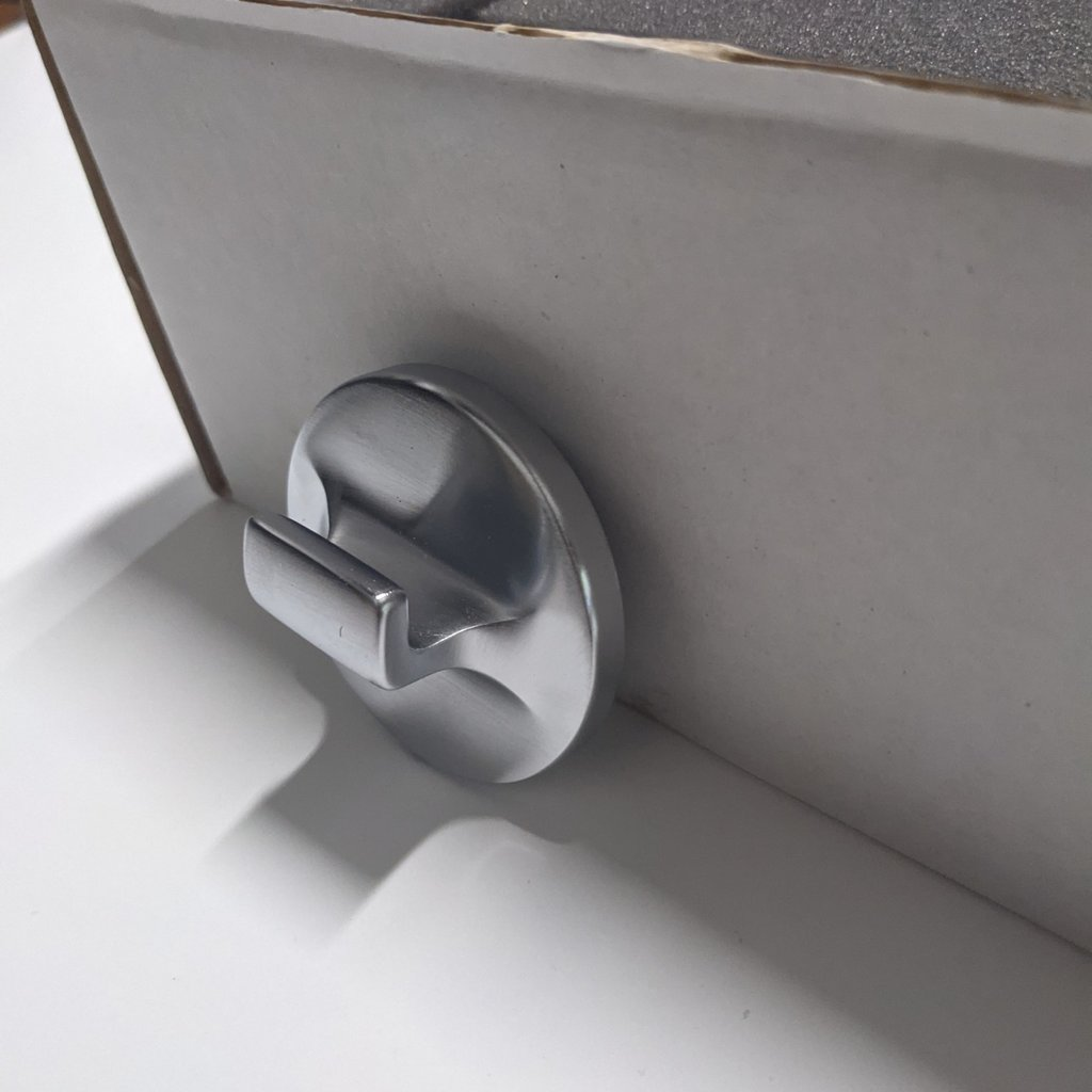 Waterworks - Brushed Chrome Hook