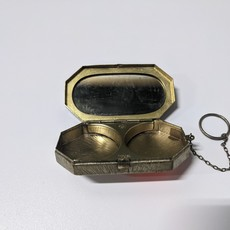 Vintage 1920s Double Compact and Mirror