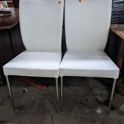 Modern White Dining Chairs