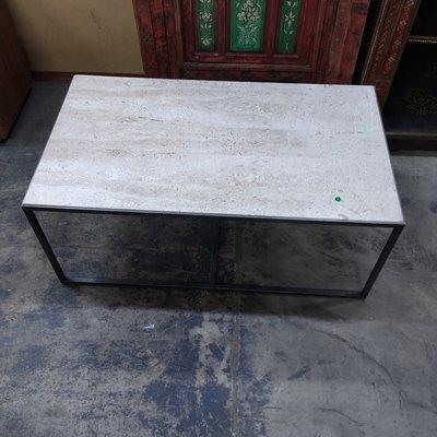 Hammary Furniture Travertine Coffee Table