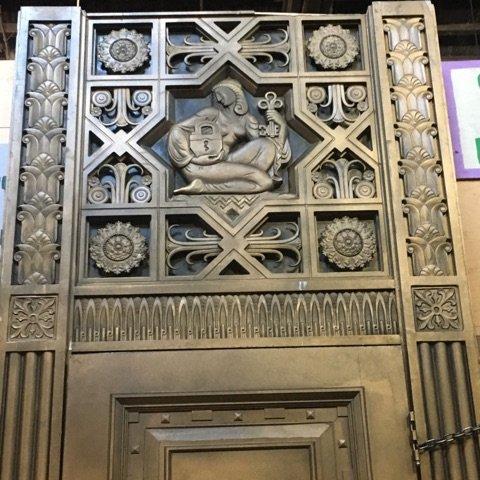 Wall Street Bank Entrance Replica #BLU