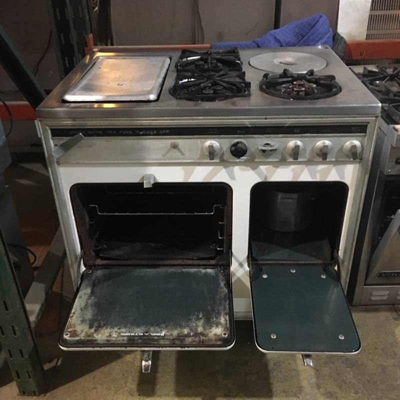 Antique Chambers Stove #PIN