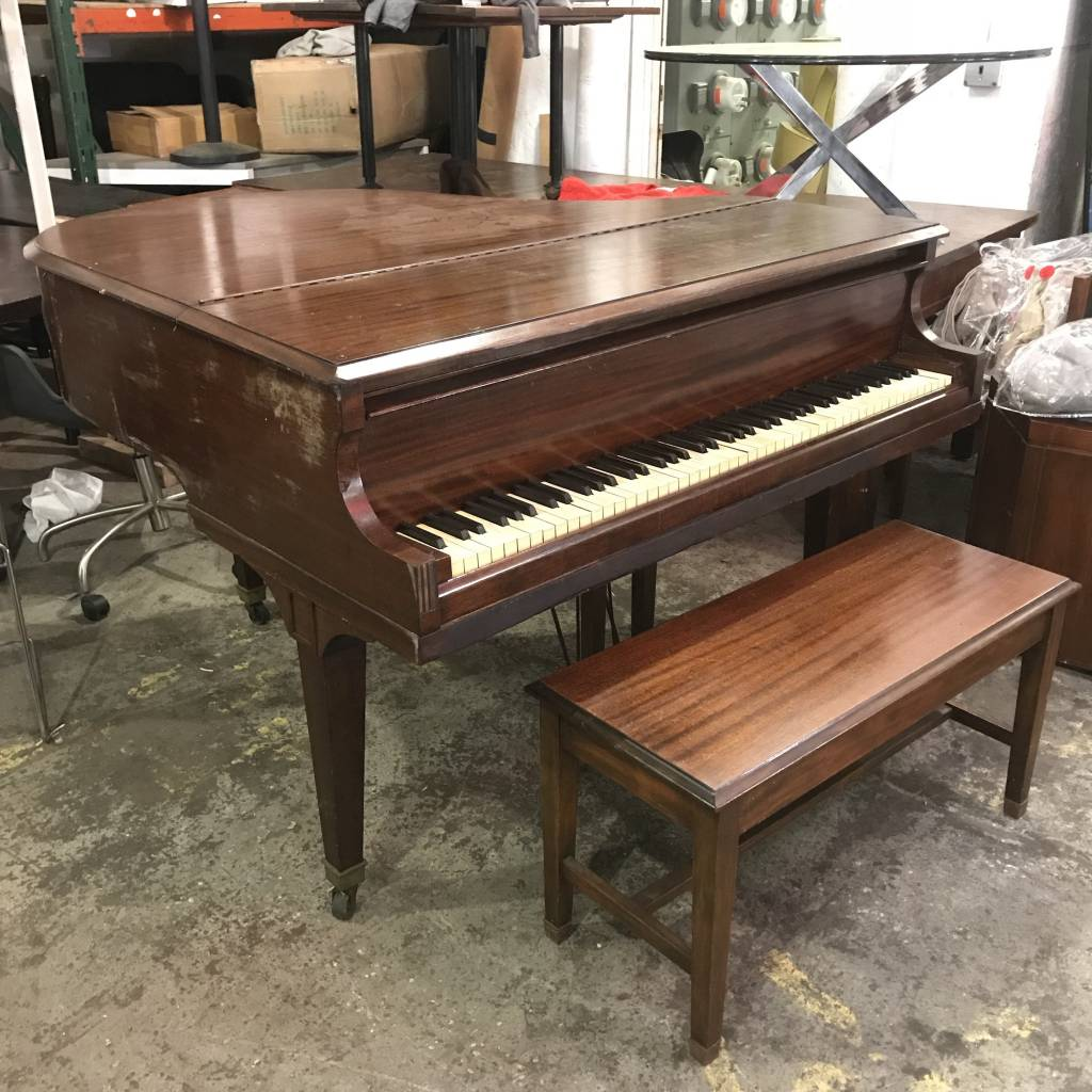 Baby Grand Piano Yel Big Reuse