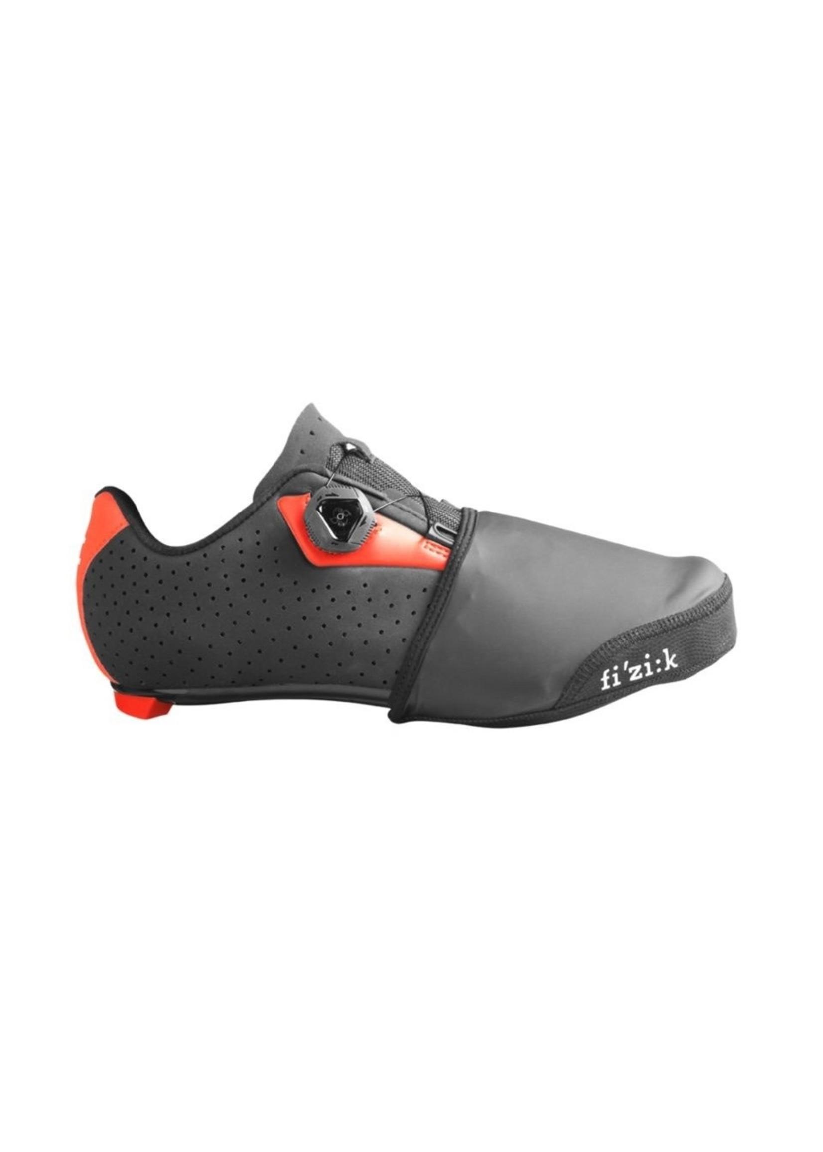 Fizik Footwear Accessories - Windproof Toe Cover - Black - Extra Small/Small