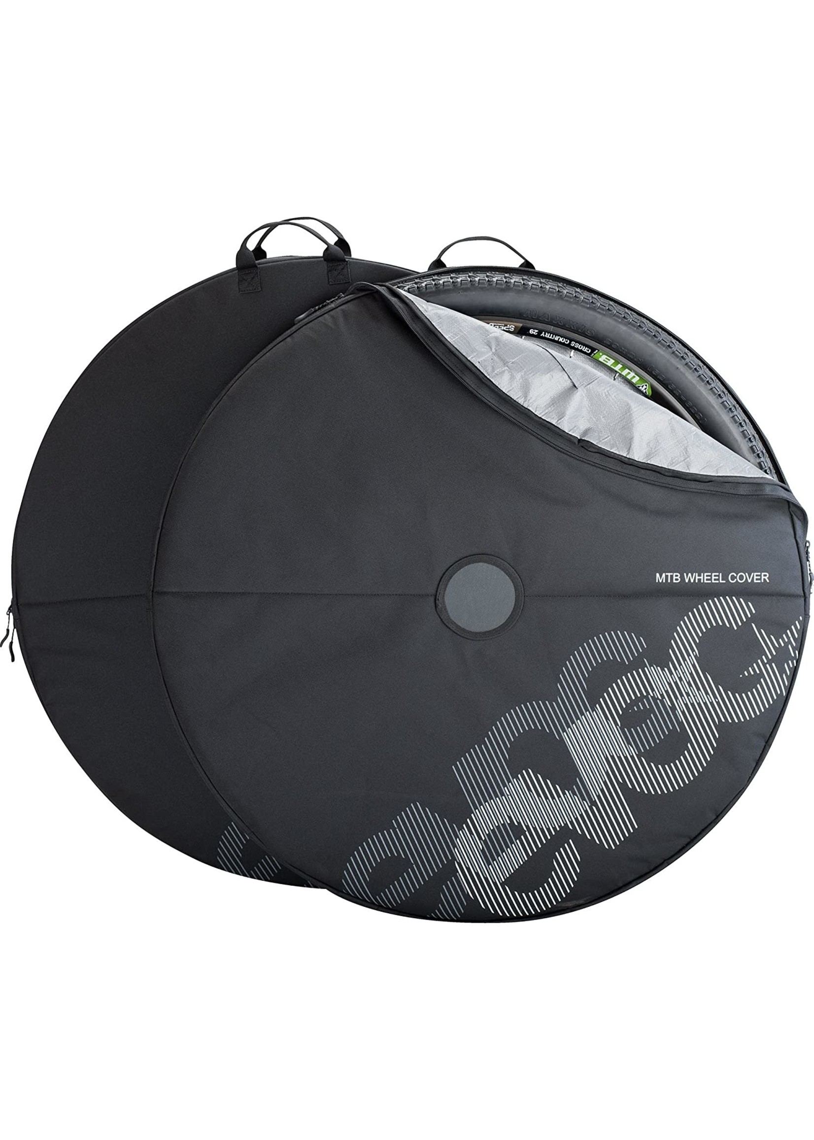 Evoc MTB wheel cover black one set (2 pcs)