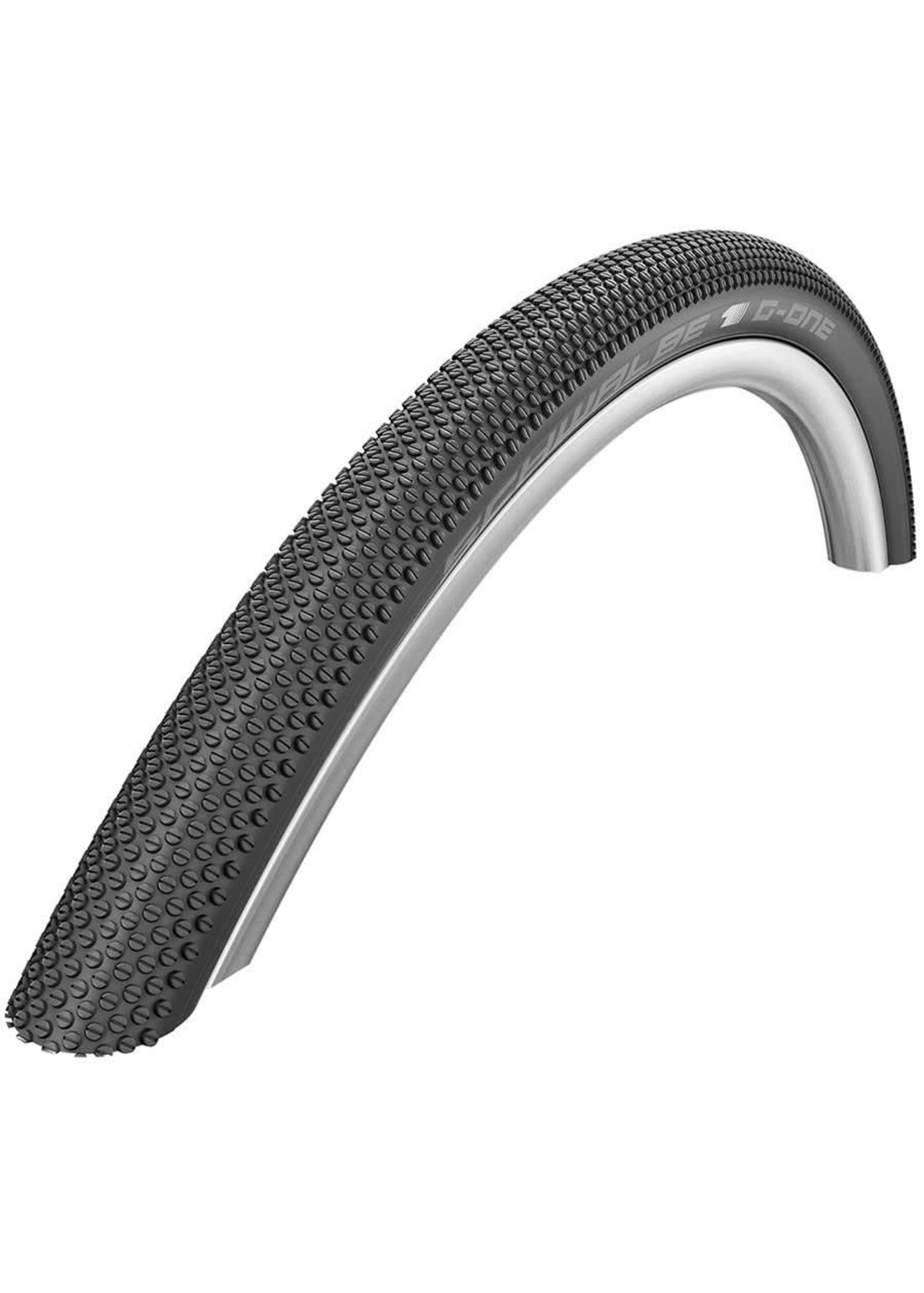 Schwalbe, G-One Allround, 700x35C, Folding, OneStar, Tubeless Ready, MicroSkin, 127TPI, 45-70PSI, Noir