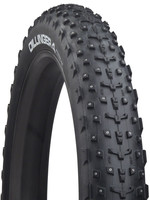 45NORTH 45North Dillinger 4 Tire - 27.5 x 4, Tubeless, Folding, Black, 60tpi, 252 Carbide Steel Studs
