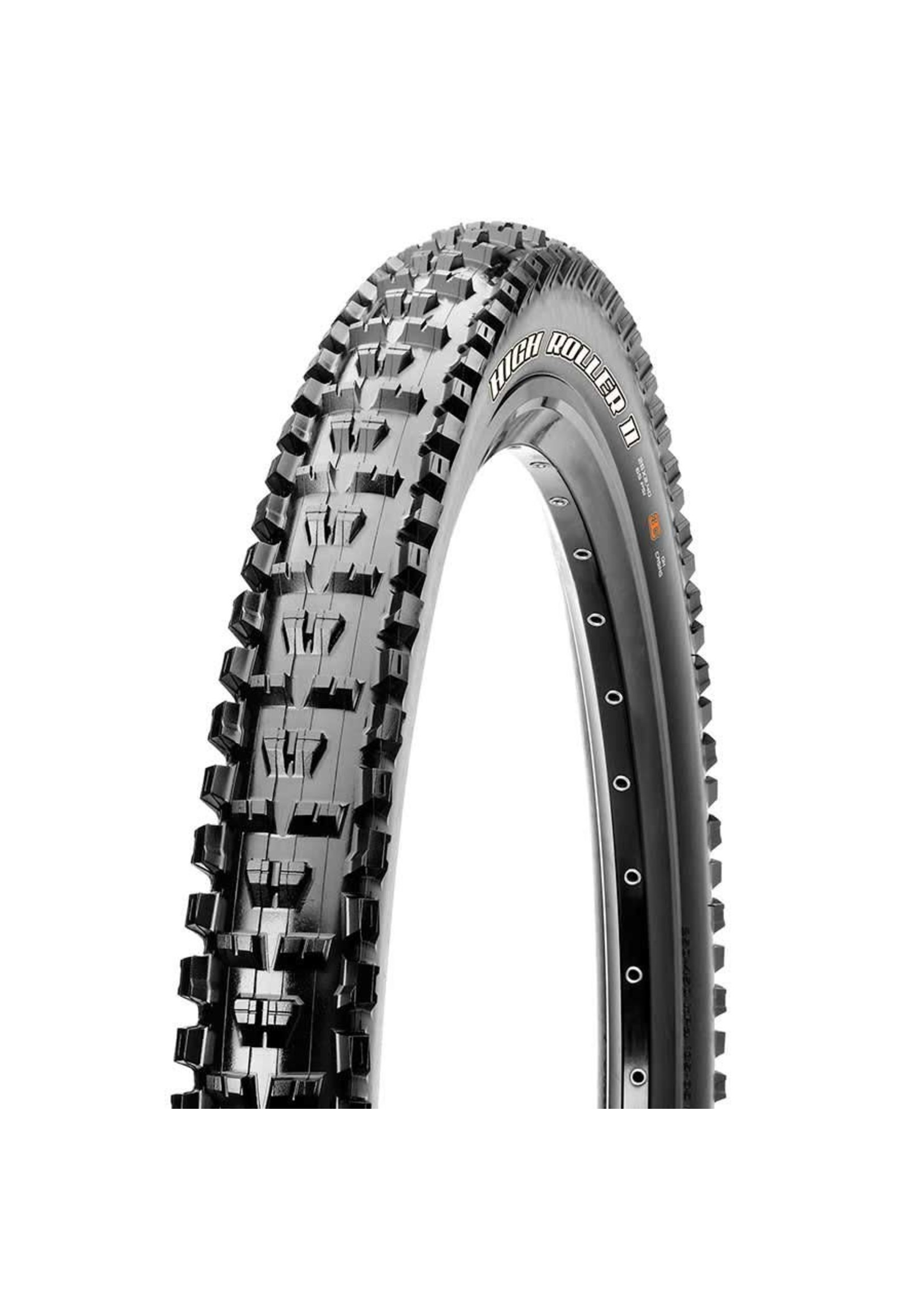 Maxxis Maxxis, High R'ller II, Tire, 29''x2.50, F'lding, Tubeless Ready, 3C Maxx Terra, EX', Wide Trail, 60TPI, Black