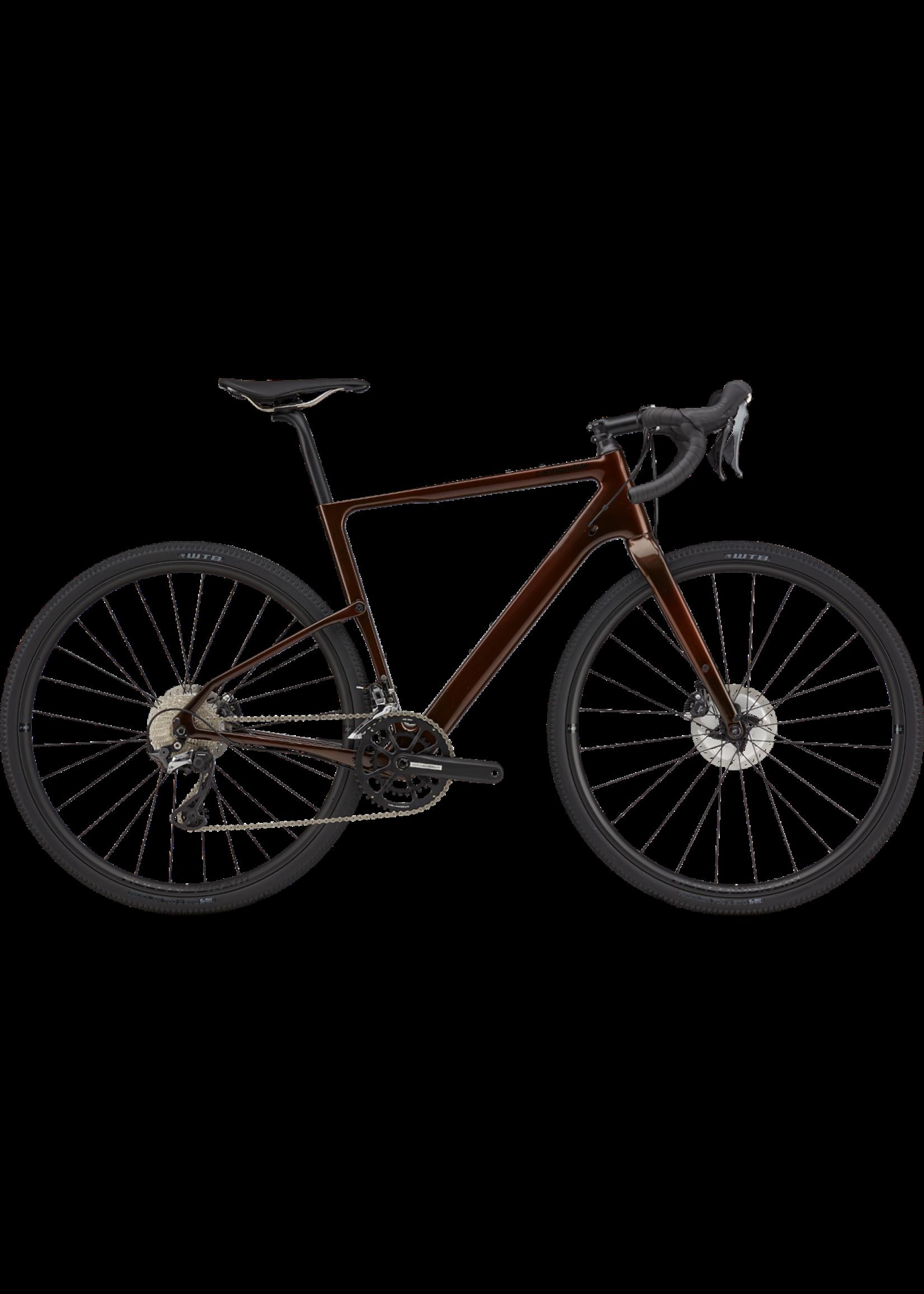 Cannondale 2021 Cannondale Topstone Carbon 2 GRX Saber Tint