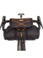 Restrap Restrap Bar Bag, Black/Orange, 14L