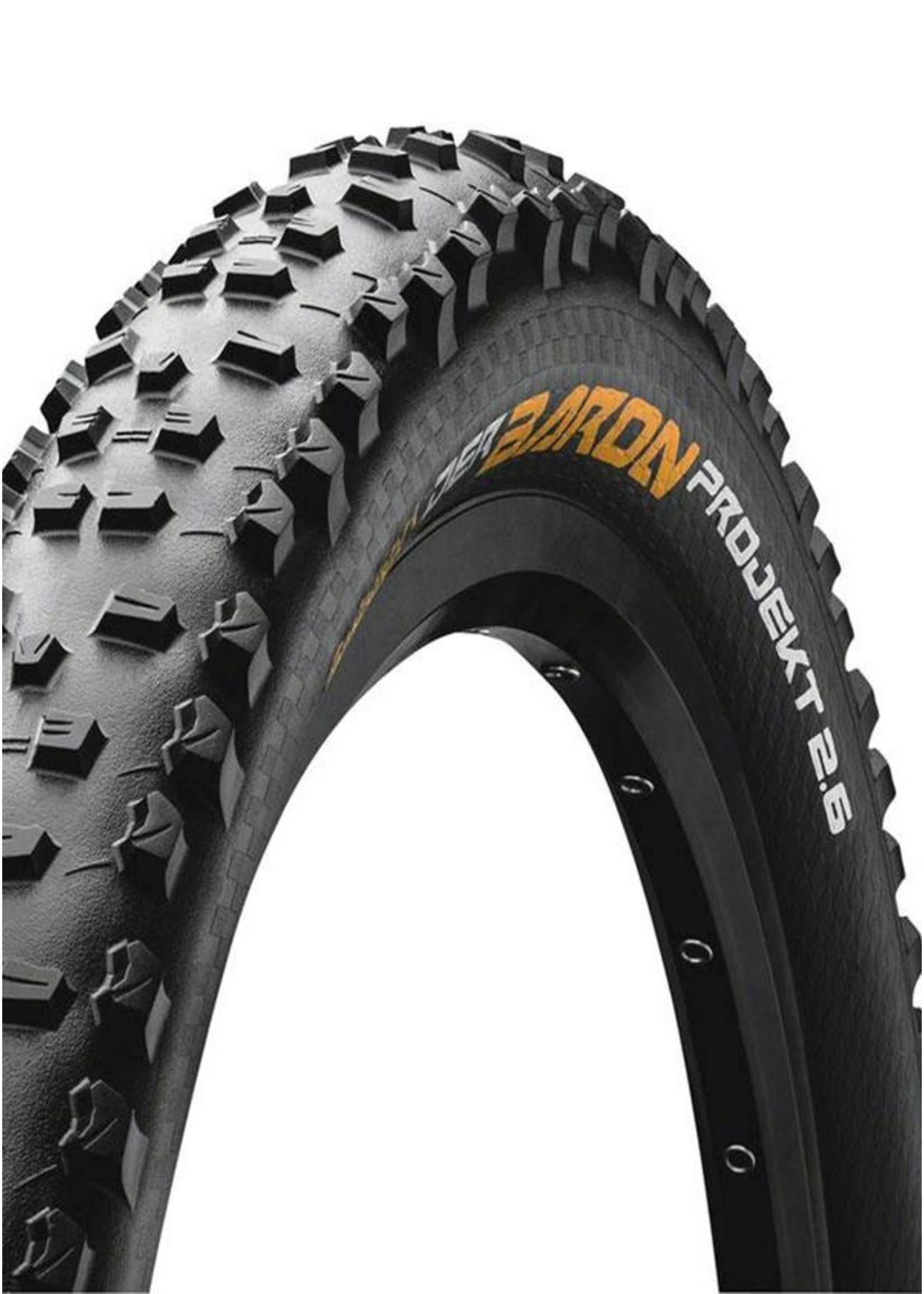 CONTINENTAL Der Baron Projekt 27.5 x 2.6 Folding ProTection APEX + Black Chili