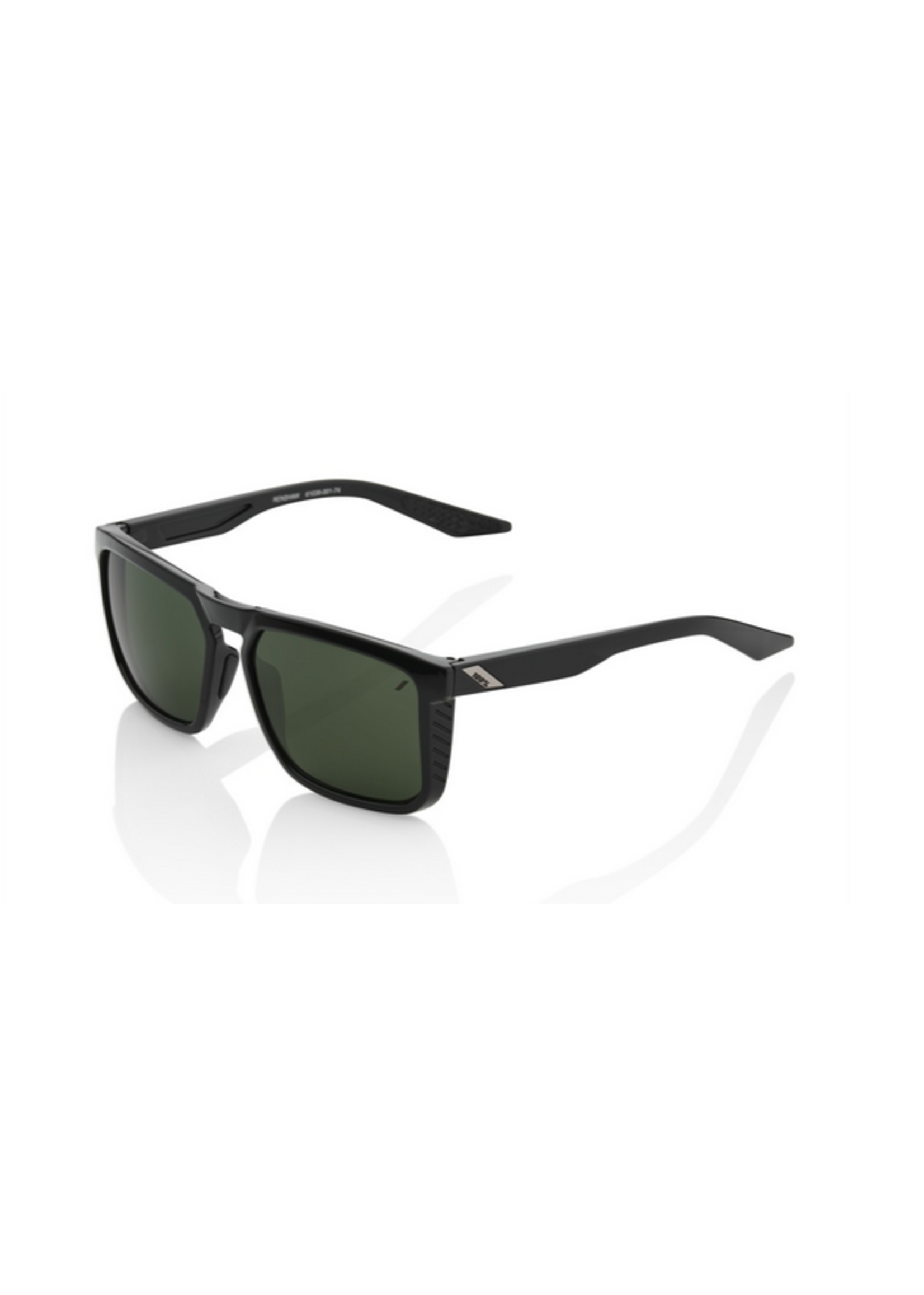 100% 100% Renshaw Gloss Black Grey Green Lens