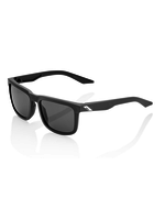 100% Blake - Soft Tact Black - Smoke Lens