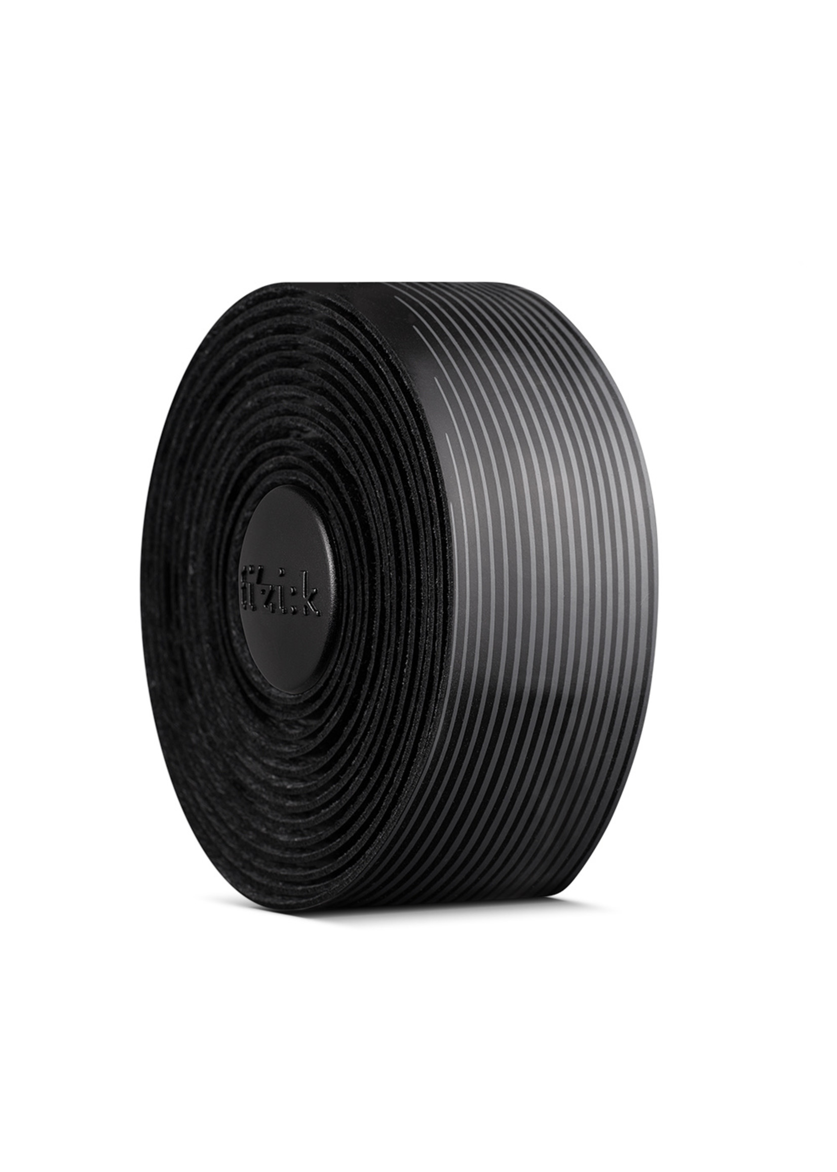 Fizik Vento - 2mm - Microtex - Tacky - BLACK / GREY Bar tape