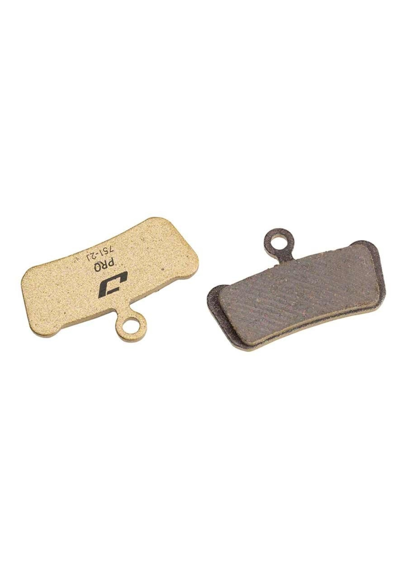 Jagwire Jagwire, Pro Semi-Metallic, Disc Brake Pads, Shape: SRAM Guide/Avid Trail, Semi-Metallic