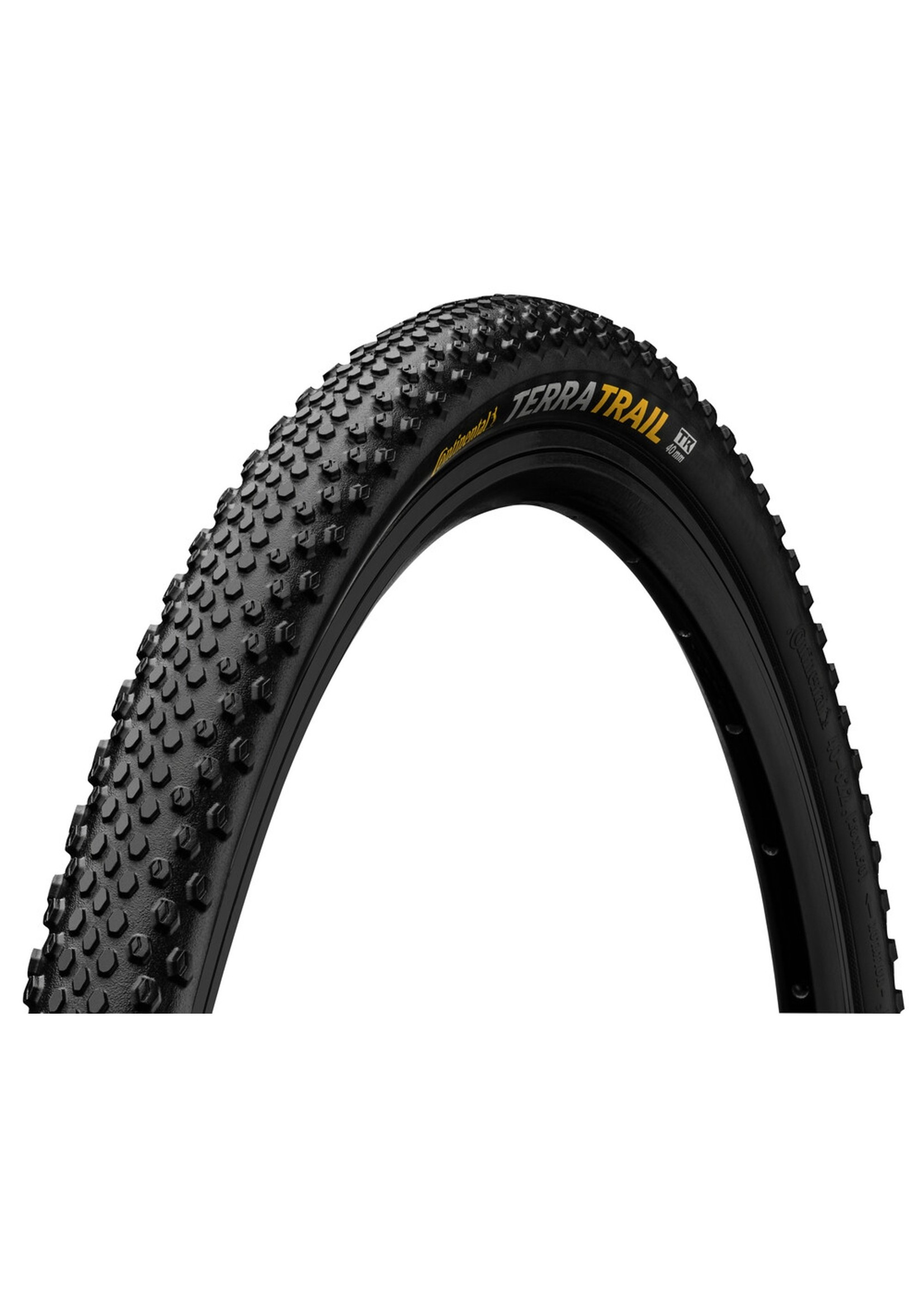 CONTINENTAL TERRA TRAIL 700 x 40 Fold ProTection TR + Black Chili